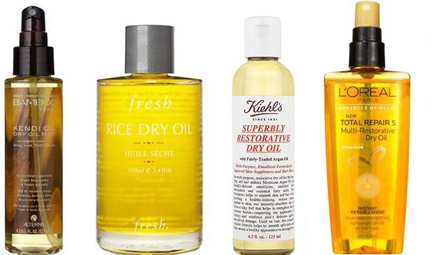 dry oils for hair