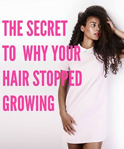 The Real Reason Your Hair Stopped Growing