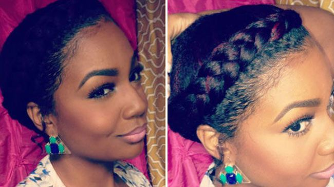 9 Steps To Perfect Goddess Braids On Short Hair