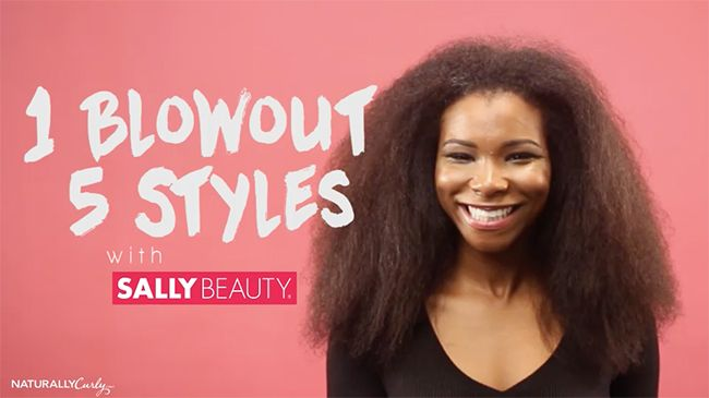 5 Stunning Natural Hairstyles That Use Heat Naturallycurly Com
