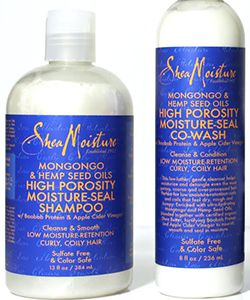 A Stylist's Review: SheaMoisture Mongongo & Hemp Seed Oils High Porosity Collection