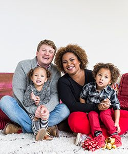 Get Perfectly Styled Curls for This Year's Holiday Family Photos