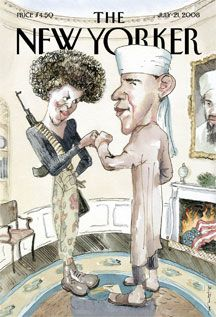 Controversial New Yorker Cover