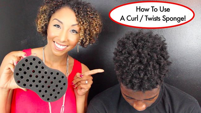 This Hair Sponge Will Twist Your Hair For You Naturallycurly Com