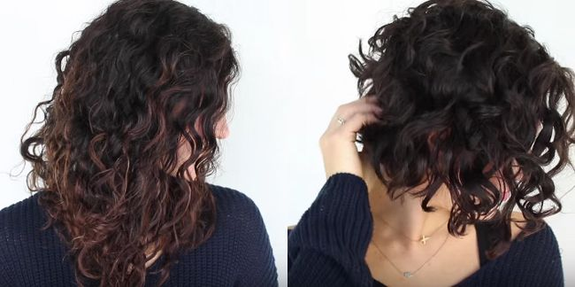 haircuts for women with curly hair my to wavy haircut naturallycurly 2025 | SY short wavy haircut 650x324
