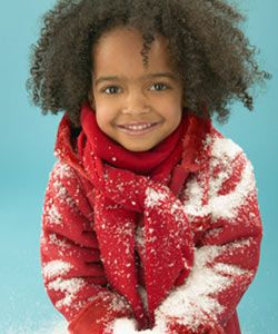 Baby It's Cold Outside: Winter Routine for Curly Kids