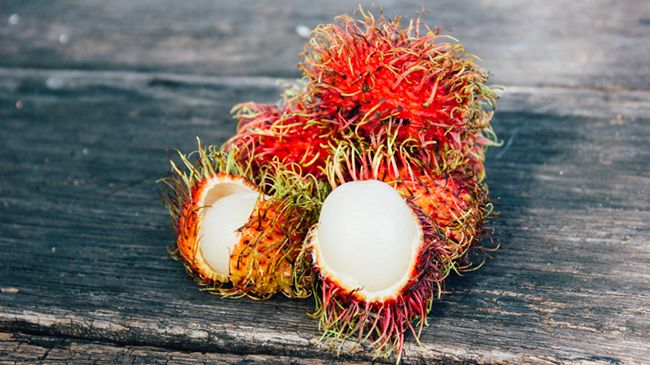 lychee fruit for hair health