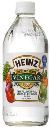 vinegar to remove hair dye