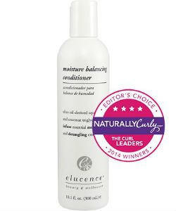 Elucence Moisture Balancing Conditioner Review on Type 3 Curly Hair