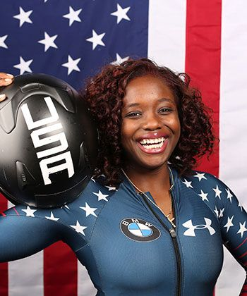 How This Olympian's Mom Taught Her to Disregard the Odds