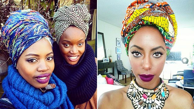 Natural Hair Head Wraps