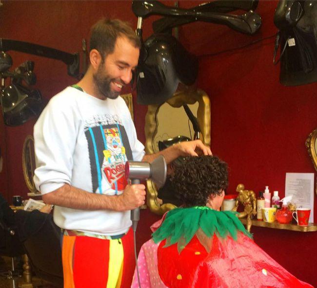 curly hair stylist Neel Morley