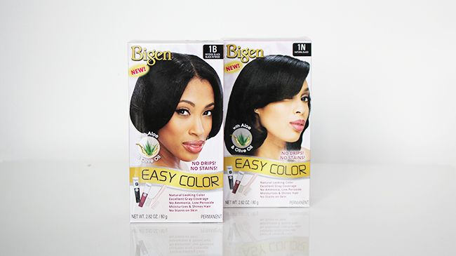 Bigen permanent hair color for graying naturally curly hair ...