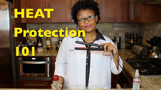 heat protection for natural hair