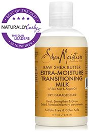 SHOP: SheaMoisture Raw Shea Butter Extra-Moisture Transitioning Milk (8 oz.)