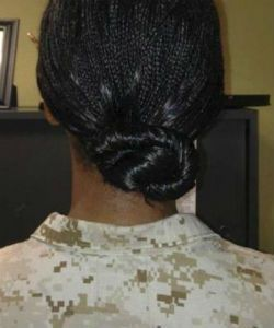 BREAKING: The Marine Corps Has Approved Two Natural Hairstyles