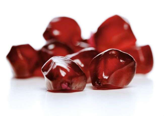 dried pomegranate seed