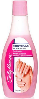 nail polish remover for hair dye stains
