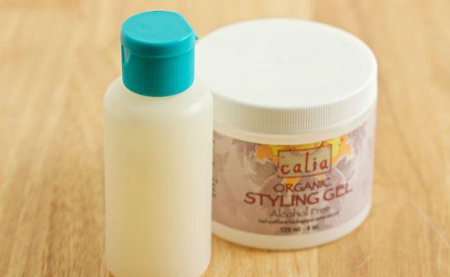 diy hair gel with lemon and gelatin