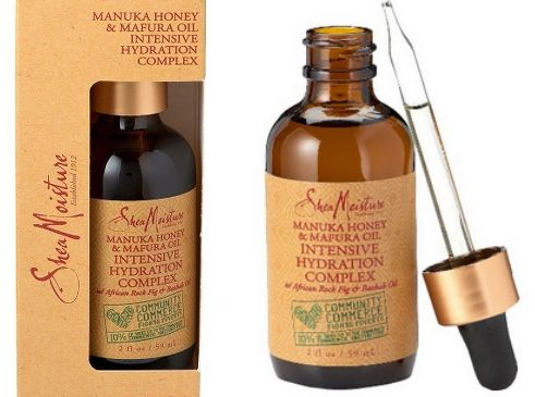 shea moisture honey serum