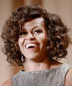 "Michelle Obama's Curls & North West's ""Crazy"" Afro 