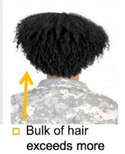 army natural hair regulation