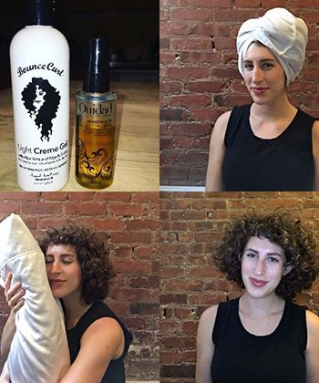 My Tips for Maintaining Healthy Fine, Curly Hair at Night