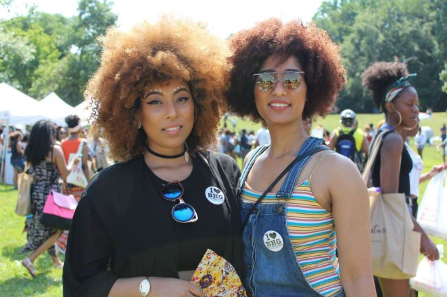 women at curlfest 2016