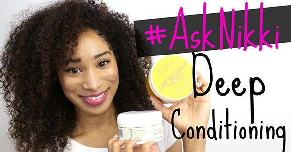 Deep Condition Hair Naturally Home