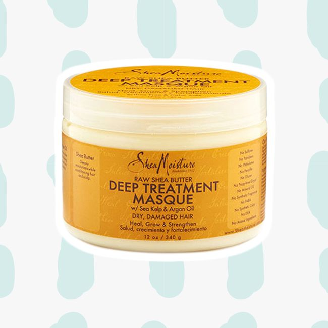 SheaMoisture Raw Shea Butter Deep Treatment Masque curly girl method
