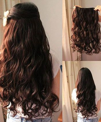 The guide to clip in hair extensions naturallycurly the right length pmusecretfo Image collections