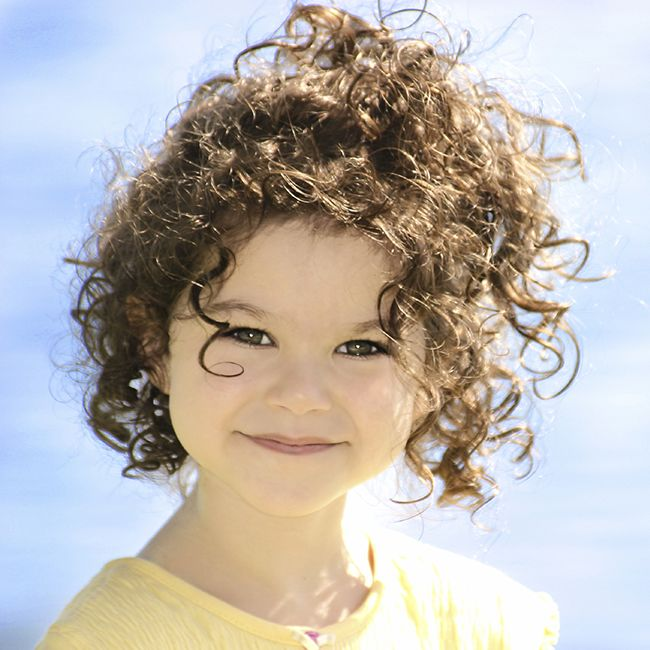 curly kid haircare