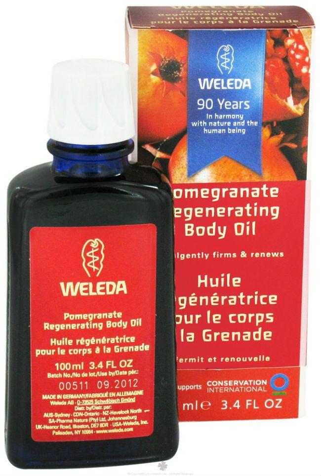 pomegranate oil for hair