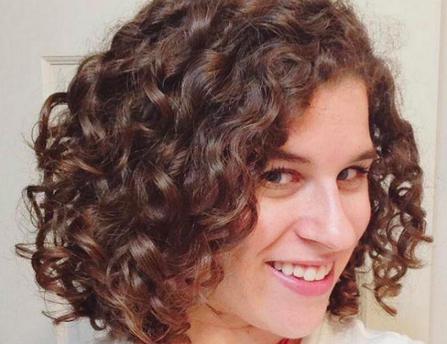 fine curly hair