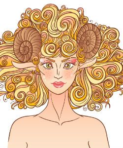 Aries, Soften Up | Curly Horoscope