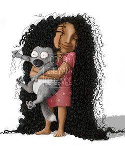 Curly Illustrator Spotlight: Cheyan (Tall N Curly)
