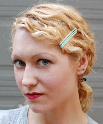 bobby pins for curls