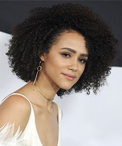 Game of Thrones Star, Nathalie Emmanuel, Opens Up About Her Natural Hair Journey