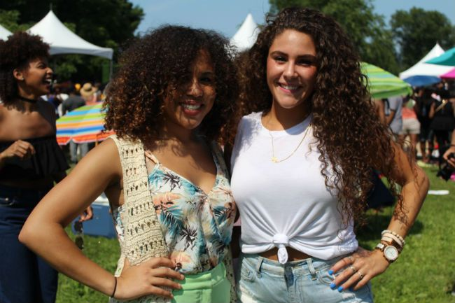curly girls at curlfest 2016