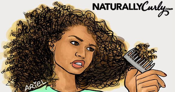 The Abc S Of Detangling Knots Naturallycurly Com