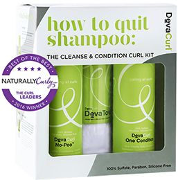 SHOP: DevaCurl How to Quit Shampoo Kit