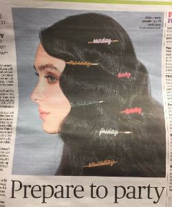 This Newspaper Ad Copied Solange's Album Cover, And It's Not OK