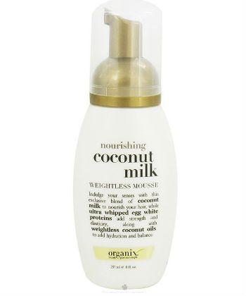 organix coconut milk mousse