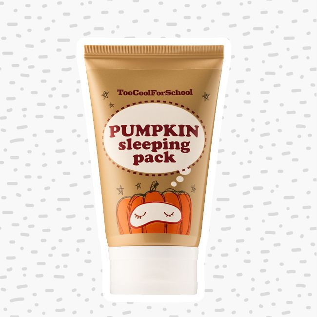 bottle of pumpkin sleeping pack