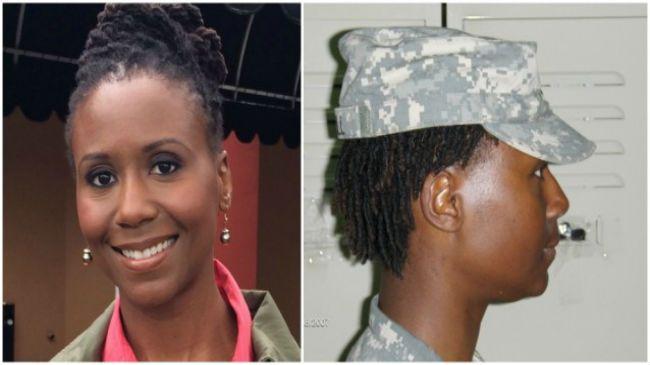Former U.S. Army Major Kristie Mitchell