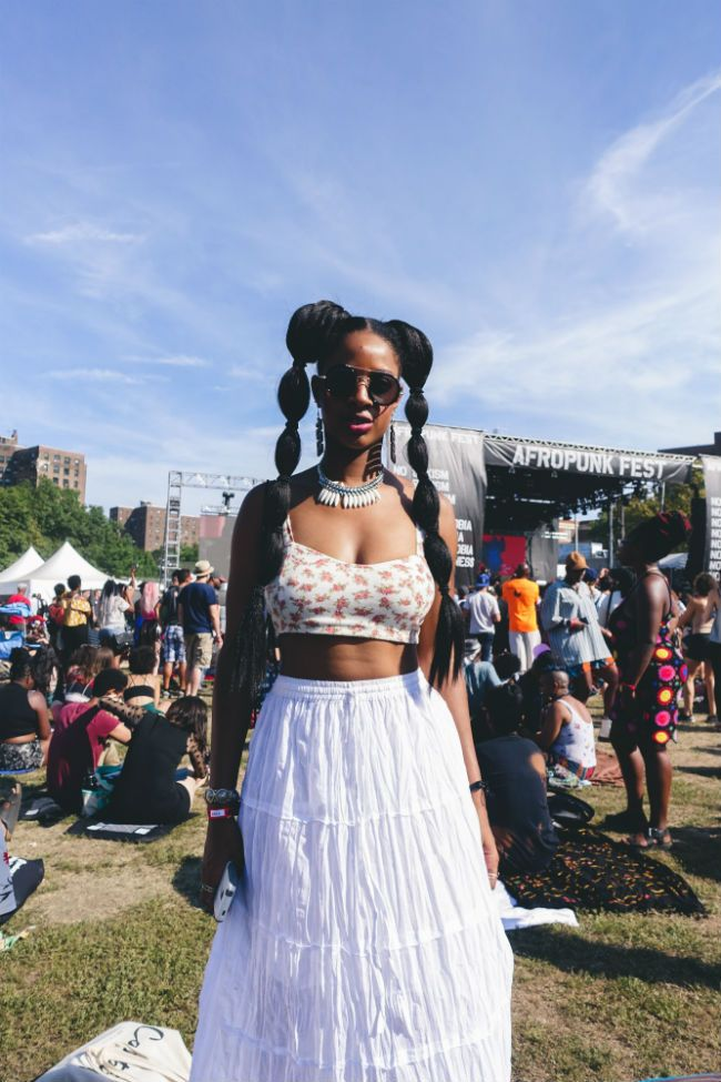 street style at Afropunk Fest