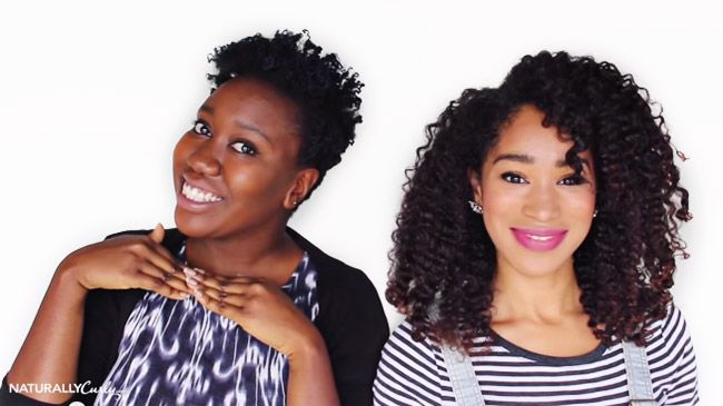 naturallycurly editors evelyn and nikki