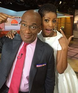 Tamron Hall Reveals Her Natural Hair on the Today Show