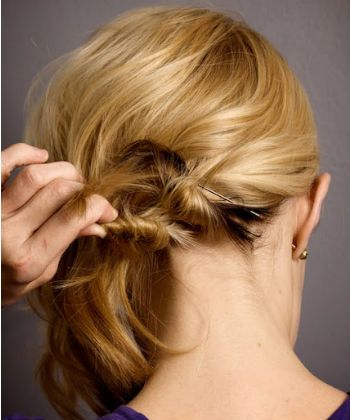 use bobby pins