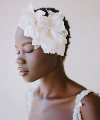 floral headpiece twa